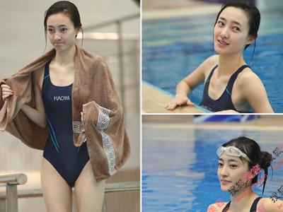 王丽坤被封素颜女神 跳水女星素颜谁最美?